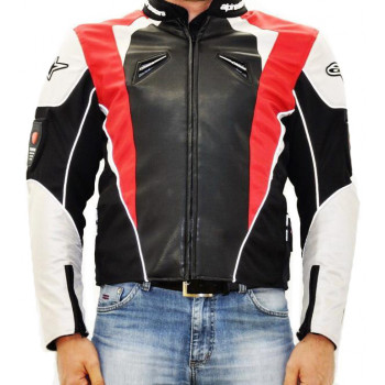 Мотокуртка текстильная Alpinestars Black-White-Red 2XL