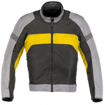 Мотокуртка Alpinestars XENON AIR Light Grey-Yellow M