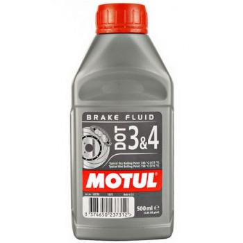 Тормозная жидкость Motul DOT 3&4 500 ml