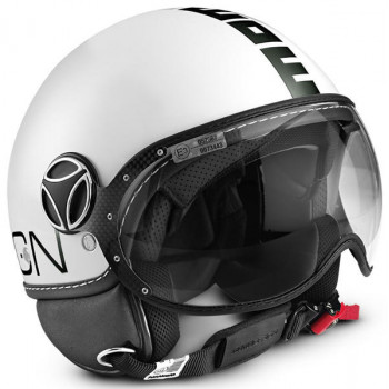 Mотошлем Momo FGTR Classic Black-White ML