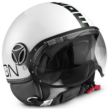 Mотошлем Momo FGTR Classic Black-White L