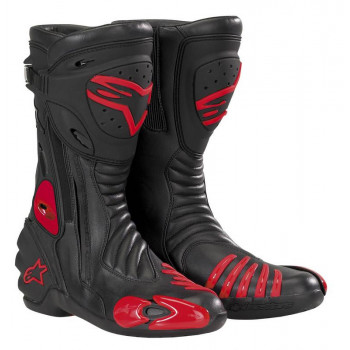 фото 1 Мотоботы Мотоботы Alpinestars S-MX R (222208) Black-Red 44