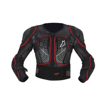 Моточерепаха Alpinestars BIONIC 2 Black-Red M