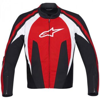 Мотокуртка Alpinestars T-STUNT AIR 30 - Black-Red-White XL