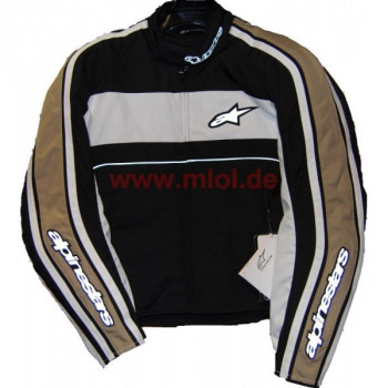 Мотокуртка Alpinestars T-DYNO WP Black/White/Gold L