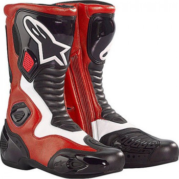 Мотоботы Alpinestars S-MX 5 Red-White 42