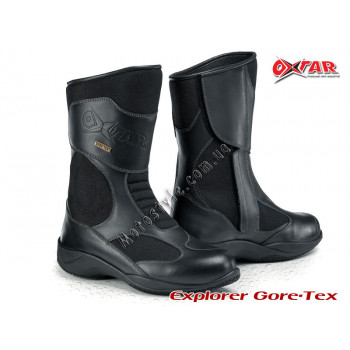 Мотоботы Oxtar Explorer 2 Gore-Tex (7118G) Black 41
