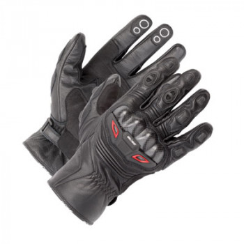 Мотоперчатки Buse Handschuh Short Track Schwarz 300810 Black 8