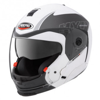 Шлем CABERG HYPERX MOD White-Anthracite S