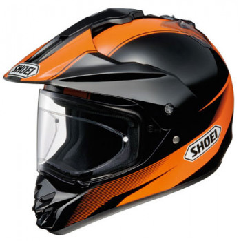 Мотошлем Shoei Hornet DS Sonora TC-8 Black-Orange S