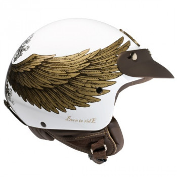 Mотошлем Nexx X60 Eagle Rider White-Gold 2XL