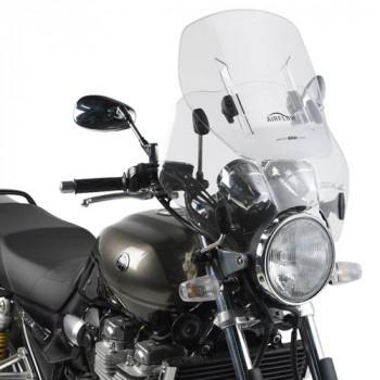 фото 1 Ветровые стекла для мотоциклов (cпойлеры) Универсальное стекло ветровое Givi AF49 с регулировкой высоты серии AF