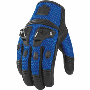 Мотоперчатки Icon Justice Mesh Blue S