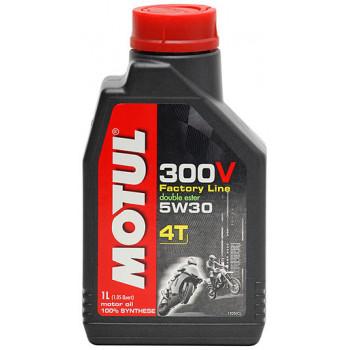 Моторное масло Motul 300V 4T Factory Line 5W-30(1L)