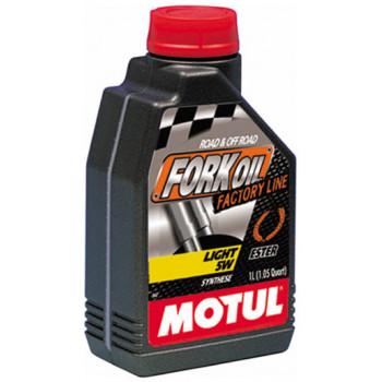 фото 1 Моторные масла и химия Гидравлическое масло Motul Fork Oil Factory Line 5W (1L)