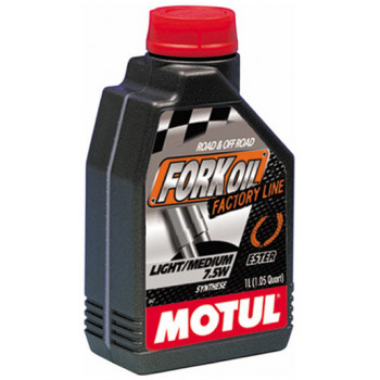 фото 1 Моторные масла и химия Гидравлическое масло Motul Fork Oil Factory Line 7,5W (1L)