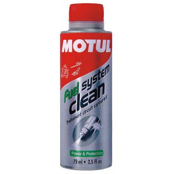 фото 1 Моторные масла и химия Промывка топливной системы Motul Fuel System Clean Scooter(75ML)