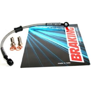 Комплект армированных тормозных шланг с фитингом Braking BR TF3028