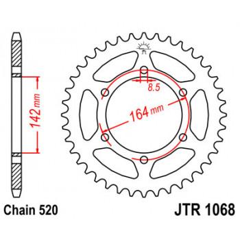 Звезда задняя JT Sprockets JTR1068.46