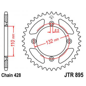Звезда задняя JT Sprockets JTR895.46