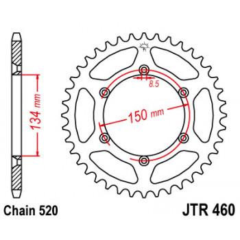 Звезда задняя JT Sprockets JTR460.49