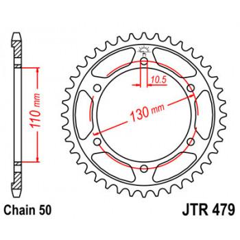 Звезда задняя JT Sprockets JTR479.38