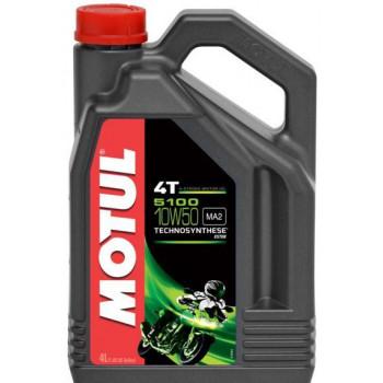 Моторное масло Motul 5100 4T 15W-50 (4L)