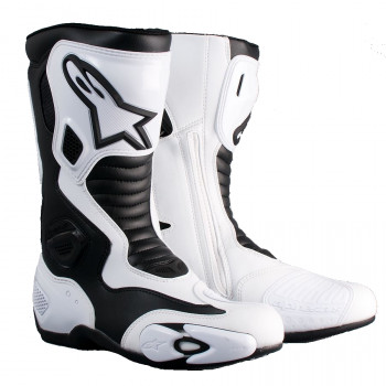 Мотоботы Alpinestars S-MX 5 Black-White 43