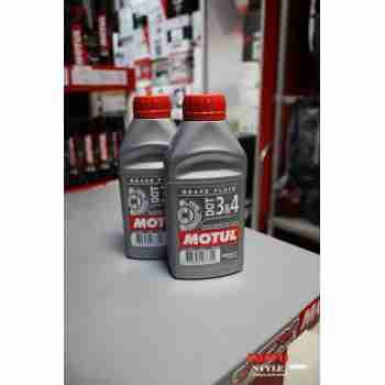 фото 3 Моторные масла и химия Тормозная жидкость Motul DOT 3&4 500 ml