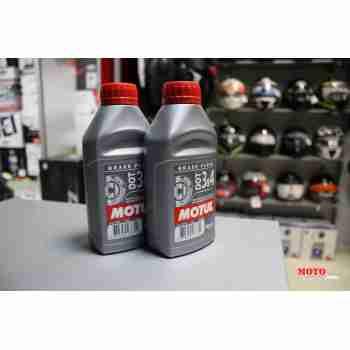 фото 4 Моторные масла и химия Тормозная жидкость Motul DOT 3&4 500 ml