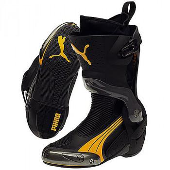 Мотоботы Puma 1000 V2 (301464-07) Black-Dark Yellow 45
