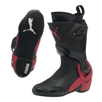 Мотоботы Puma 1000 V3 (302778 02) Black-Black High Risk Red 38
