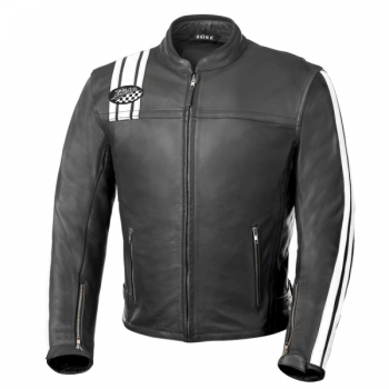Мотокуртка Buse BolD´Or Lederjacke (107930) Black-White 56