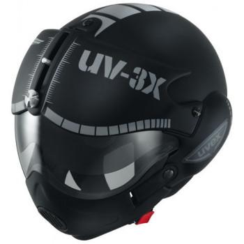 Мотошлем UVEX Apache Black XS