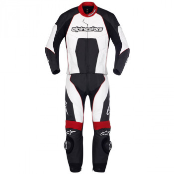 Мотокостюм Alpinestars CARVER Black-Red-White 50