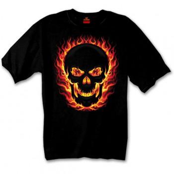 Футболка Hot Leathers Blackout Skull Black M