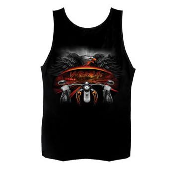 Майка Hot Leathers  V-Twin Life Rider Black L
