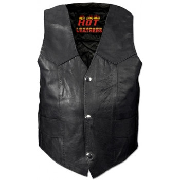 Жилет детский Hot Leathers Classic Junior Biker Black XL