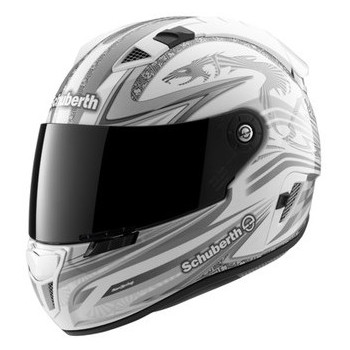 Мотошлем Schuberth SR1 racingline White XL