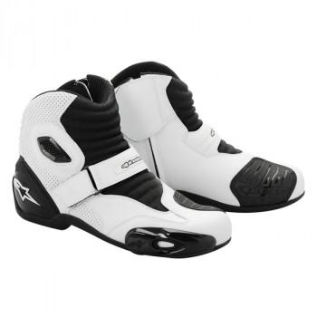 Мотоботы Alpinestars S-MX 1 Black-White 43