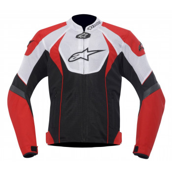 Мотокуртка Alpinestars T-GP R Air (3305112) White-Red-Black XL