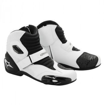 Мотоботы Alpinestars S-MX 1 Black-White 38
