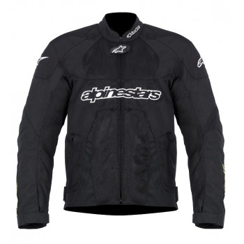 Куртка Alpinestars T-SCREAM Black-Green XXL