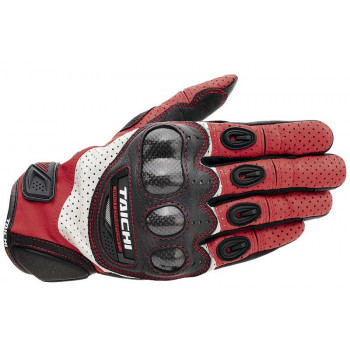 Мотоперчатки RS-Taichi Velocity Carbon Black-Red-White M