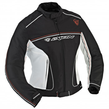 Куртка Ixon Diva Sport Black-White-Red XS