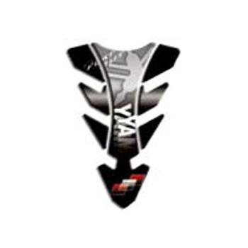 Наклейка на бак мотоцикла Puig Future Yamaha Silver