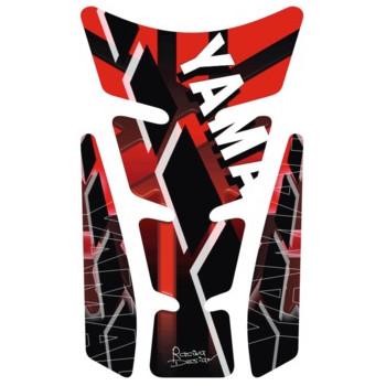 Наклейка на бак мотоцикла Puig Wings Yamaha Red