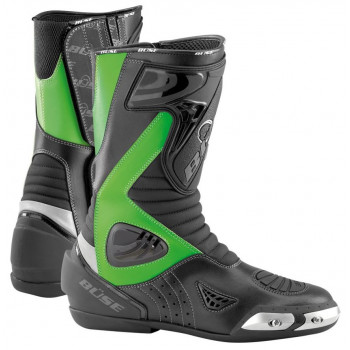 Мотоботы Buse Sport Stiefel (512204) Green-Black 46