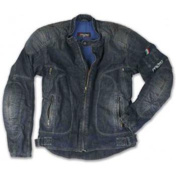 Куртка джинсовая c арамидным волокном и защитой Promo Miami Blue L