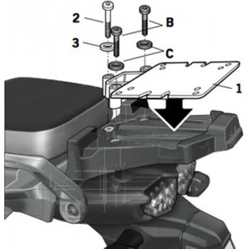 Крепление кофра центрального Shad Y0XT10ST